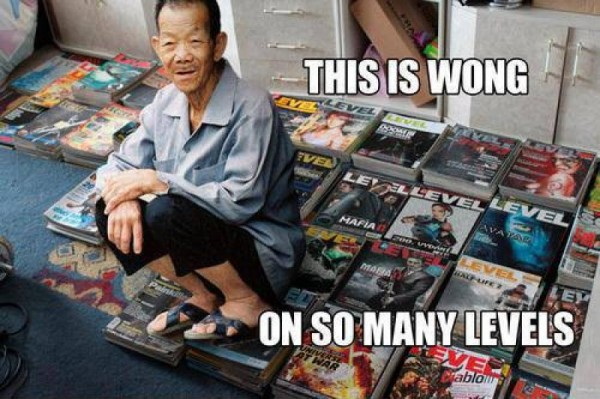 This is Wong, on so many Levels.
